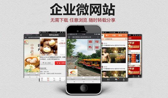 扬州微网站